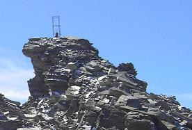 Arrête et Pointe terminale de la Levanna Occidentale (3593 m)